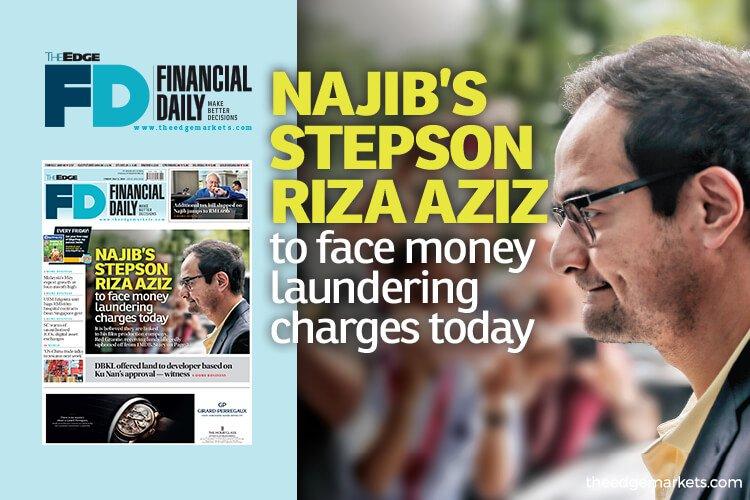 纳吉继子Riza Aziz今被控洗黑钱